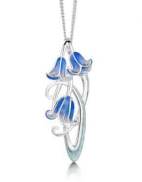 Art Nouveau Bluebell Pendant EPX241