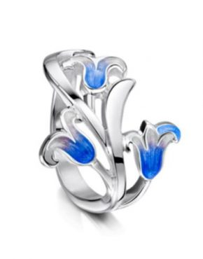 Bluebell Ring ER241 3 Flowers