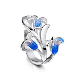 Bluebell Ring ER241 3 Flowers