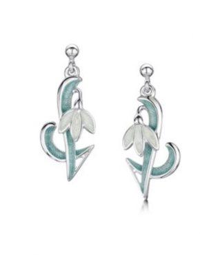 Art Nouveau Snowdrop Earrings EEX226.