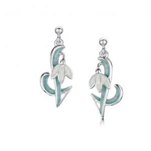 Art Nouveau Snowdrop Earrings EEX226.