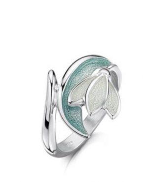 Snowdrop Ring ER228