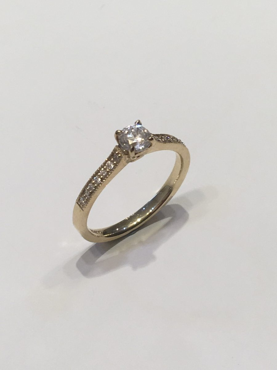513b75c1051f True Love Solitaire Ring - Acorn Jewellers of Bakewell