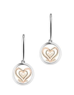 Astra Double Heart Earrings