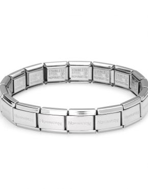 Nomination classic starter bracelet 030000/SI 18X LINKS