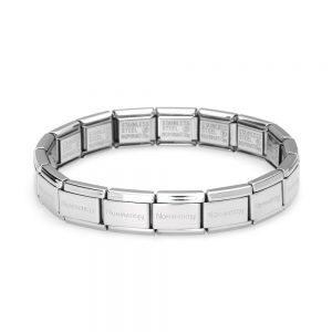 Nomination classic Silvershine starter bracelet 030000