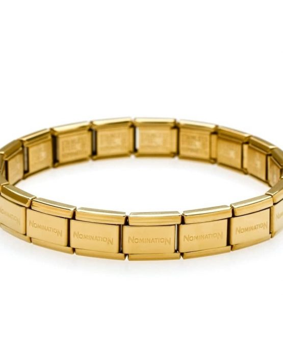 Nomination CLASSIC STAINLESS STEEL 17 LINK GOLD BRACELET 030001/SI/008