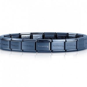 Nomination Classic Blue Stainless Steel Starter Bracelet 030001/016