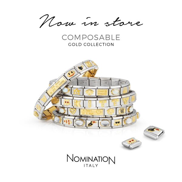 Nomination Composable Gold 1