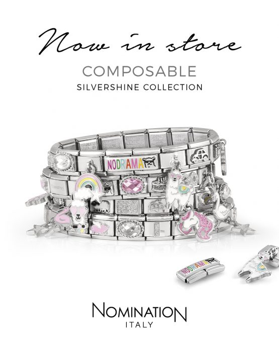 Now in Store. Composable Silvershine Collection