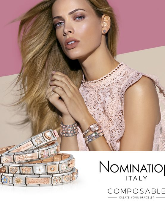 Nomination Composable Rose Gold