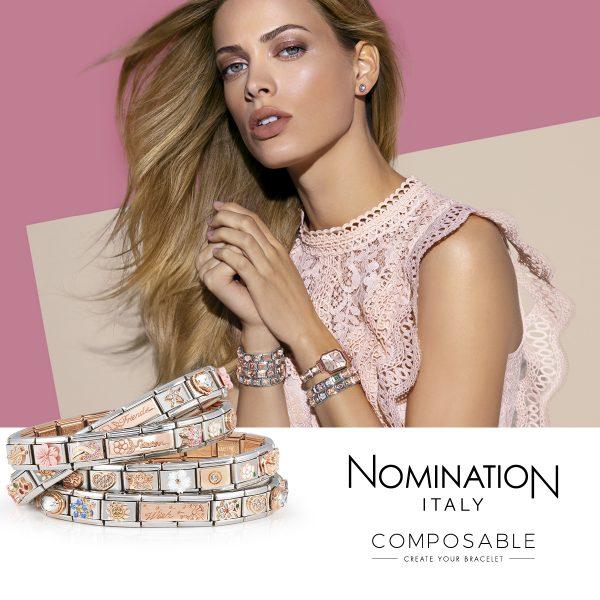 Nomination Composable Rose Gold