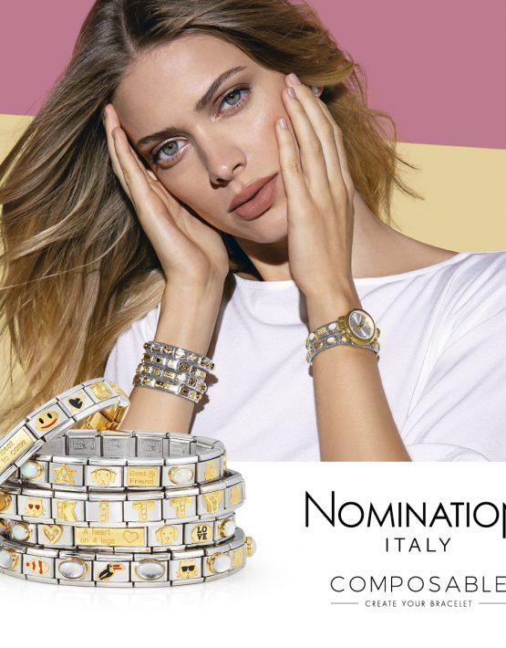 Nomination Composable Gold