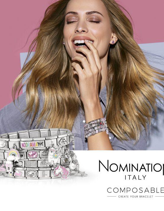 Nomination Composable Silvershine