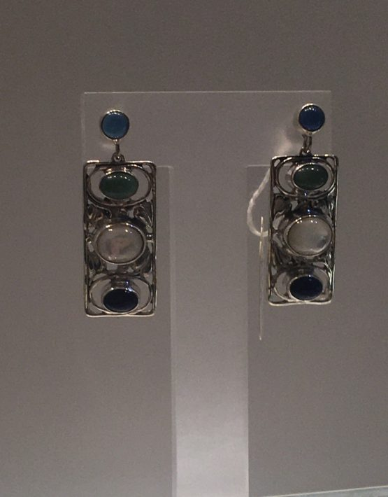Josef Hoffman Botanical Earrings