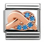Nomination Classic Rose Gold 'Promises' Mother & Son Bond Charm 430302/10