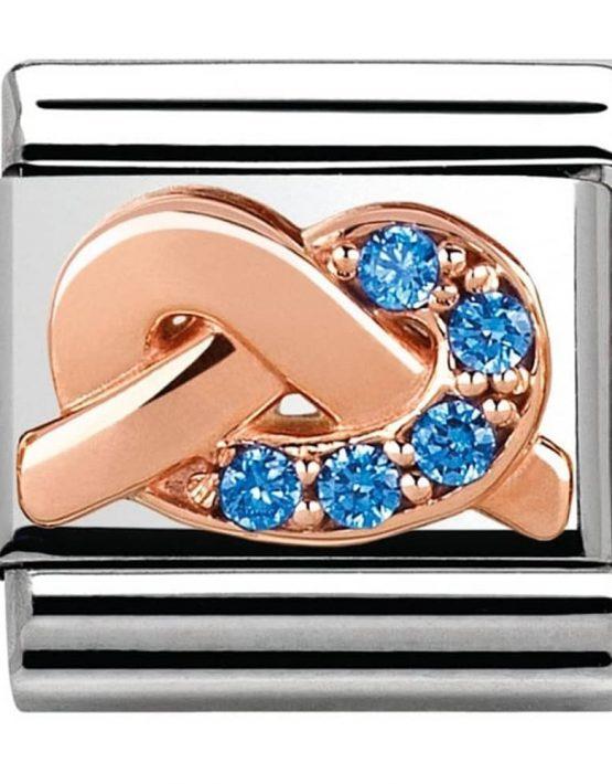 Nomination Classic Rose Gold 'Promises' Mother & Son Bond Charm 430302/10