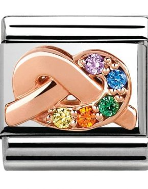 Nomination Classic Rose Gold Promises Friendship Charm 430302/11