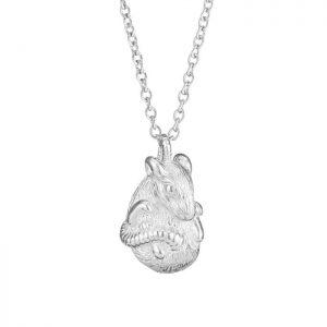 Chinese zodiac rat pendant