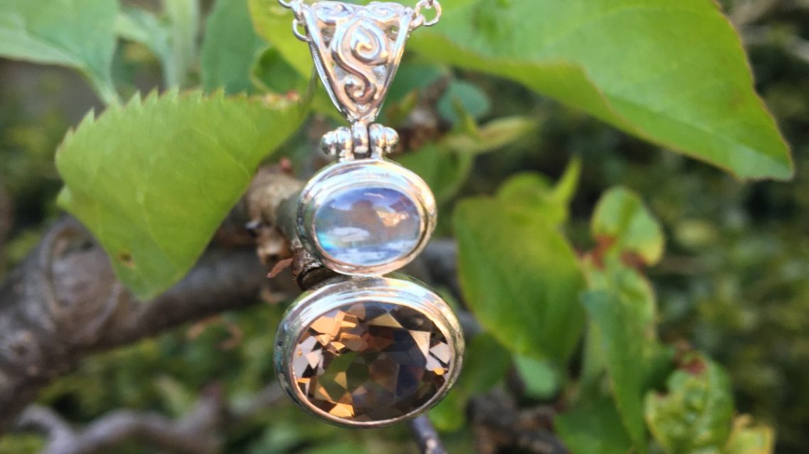 smoke on the water pendant