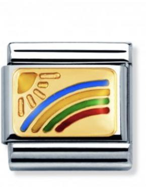 Nomination Rainbow Charm