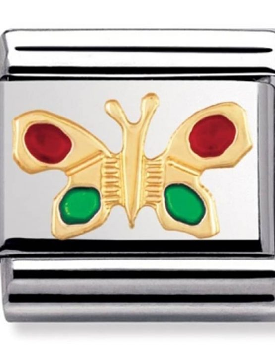 Nomination Classic Gold Butterfly Charm 030211/09
