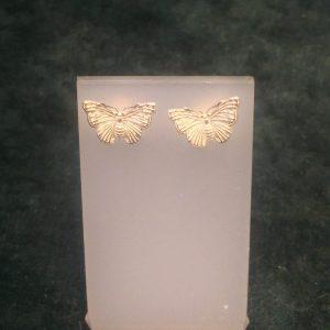 Silver Butterfly Stud Earrings SGH3777/S