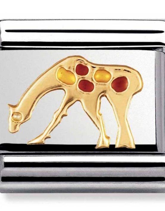 Nomination Charm. ClassicGold Giraffe 🦒 Charm 030211/26