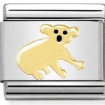 Nomination Charm. ClassicGold Koala Bear Charm 030248/17