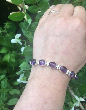amethyst bracelet on LJ