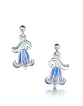 Single Bluebell Drop Earrings EEX241