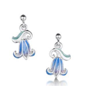 Single Bluebell Drop Earrings EEX241