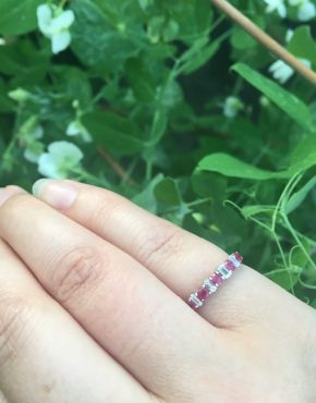 Eternal Ruby Ring