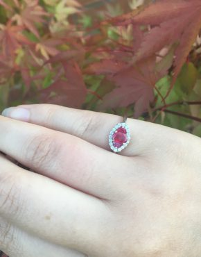 Ruby trilogy ring on LJ