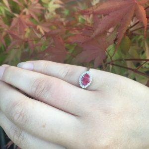 Ruby trilogy ring on LJ