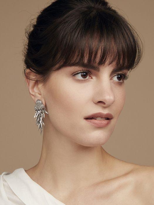 dionysus bear claw earrings