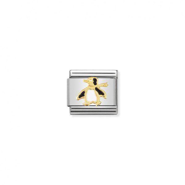 Nomination ClassicGold Penguin Charm 030213/04