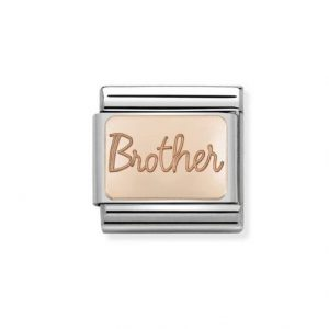 Nomination Classic Rose Gold Brother Charm 430101/37