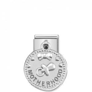 Nomination Classic Silvershine Motherhood Charm 331804/11
