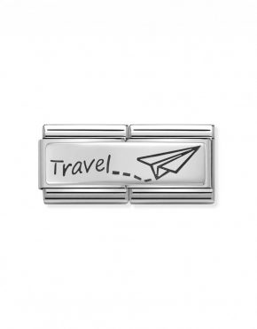Nomination Classic Silvershine Travel Double Charm 330710/09