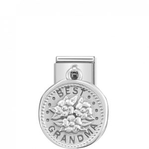 Nomination Classic Silvershine Best Grandma Charm 331804/13