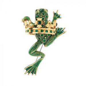 Frog Prince Brooch SHJ020-02-09