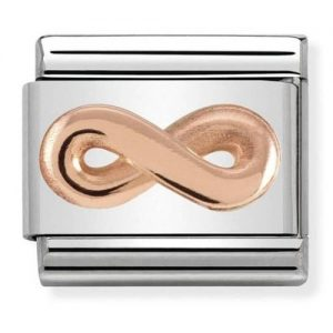 Nomination Classic Rose Gold Infinity Charm 430106/03
