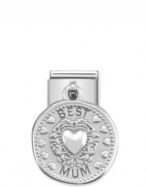 Nomination Classic Silvershine Best Mum Charm 331804/12