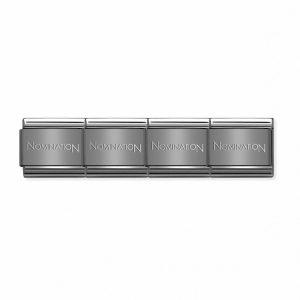 Classic Stainless Steel Gun Metal Grey Starter Bracelet 030001/046
