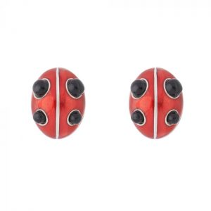 Lucky Ladybird Earrings ACSHJ376-05-145