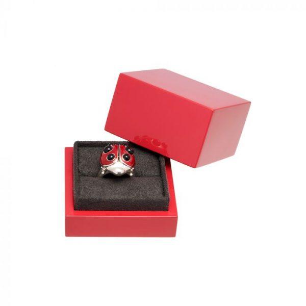Lucky Ladybird Ring ACSHJ392-05-145-100