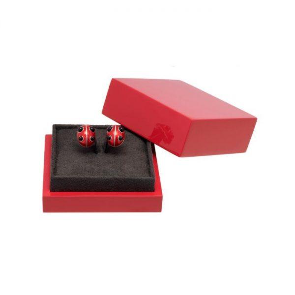 Lucky Ladybird Earrings ACSHJ376-05-145