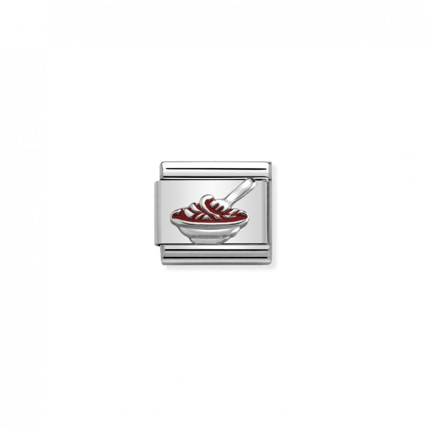 Nomination Classic Silvershine Spaghetti Charm 330202/36