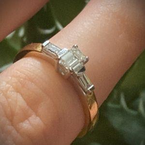 Diamonds Are a Girls Best Friend Ring ACVX1099